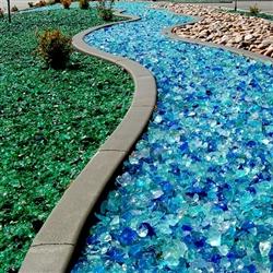 Tumbled Landscape Amp Firepit Glass Assorted Color Options